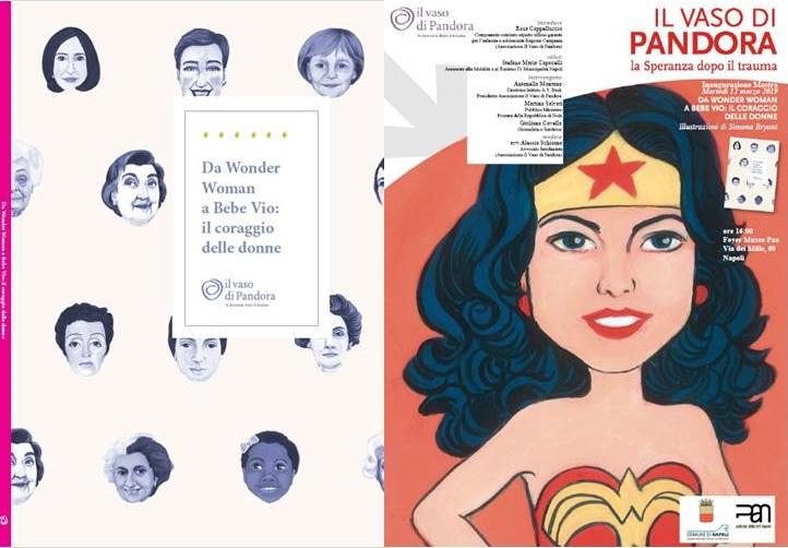 Da Wonder Woman A Bebe Vio Il Coraggio Delle Donne In Mostra Al